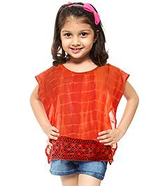 M'Andy Tie & Dye Trendy Kaftan - Orange