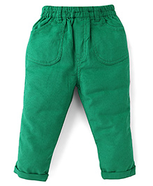ToffyHouse Full Length Corduroy Trousers - Green