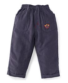 Jash Kids Full Length Corduroy Pant - Grey