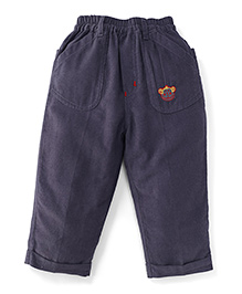 Jash Kids Full Length Corduroy Pant - Grey