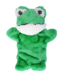 Twisha Nx Frog Hand Puppet Green & White - 25.4 Cm  Twisha Nx Presents This Colorful, Soft, Beautifully Designed Hand Puppet For Your Little One. This Hand Puppet Is Great For Developing Motor Skills, Hand-eye Coordination And Parent-child Bonding. T