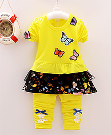 Superfie Butterfly Sets For Girls - Yellow