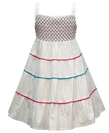 The Cranberry Club Bobby Sun Dress - White