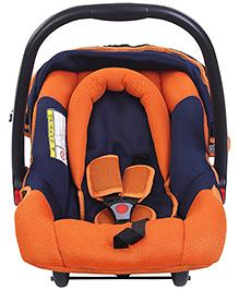 Mee Mee Car Seat Cum Carry Cot - Orange N Black - 0 Months+