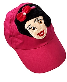Thought Counts Beautiful Girl Cap - Dark Pink