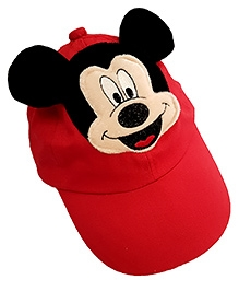 Thought Counts Cartoon Character Cap - Red
