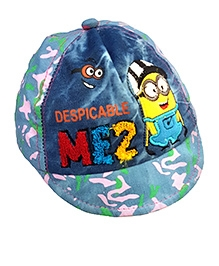 Thought Counts Printed Cartoon Character Cap - Blue
