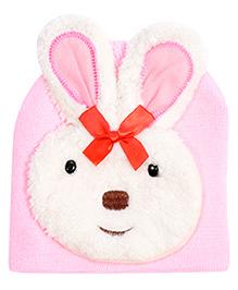 Miss Diva Cute Bunny Cap - Light Pink