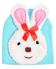Miss Diva Cute Bunny Cap - Turquoise