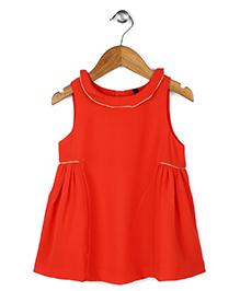 UCB Sleeveless Dress - Orange
