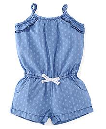 UCB Singlet Paisley Print Jumpsuit - Blue
