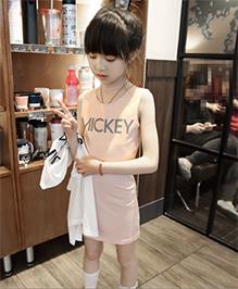 LivFuture Printed Stylish Bodycon Dress - Orange
