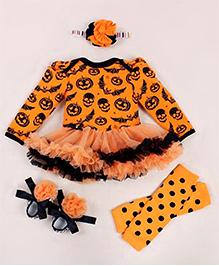Pre Order - Adores Halloween Costume - Orange