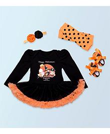 Pre Order - Adores Halloween Costume - Black