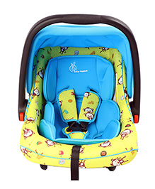 R For Rabbit Picaboo Infant Car Seat Cum Carry Cot - Blue Yellow