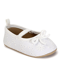 Fox Baby Designer Bellies Shoes - Off White