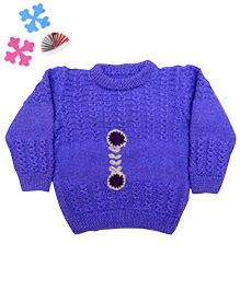 GoCuddle By Jasleen Sweater For Boys - Blue