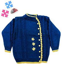 GoCuddle By Jasleen Sweater - Blue
