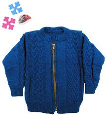GoCuddle By Jasleen Zipper For Boys - Blue