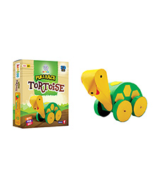 Jumboo 3D DIY Art And Craft Set Pull Back Tortoise Toy - Multi Color