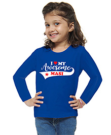 M'andy Awesome Masi Girls T-Shirt - Blue
