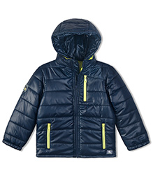 Cherry Crumble California Lightweight Puffer Jacket For Boys & Girls - Blue