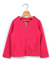 Beebay Full Sleeves Sweatshirt Floral Design - Pink