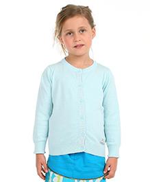 Cherry Crumble California Premium Soft Cosy Sweater - Blue