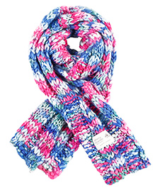 Cherry Crumble California Soft Colorful Woollen Scarf For Boys & Girls - Multi Colour