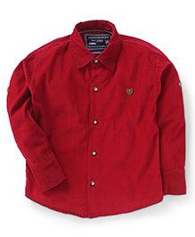 Jash Kids Full Sleeves Shirt - Maroon