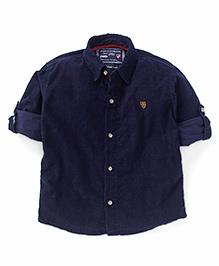 Jash Kids Full Sleeves Shirt - Navy Blue