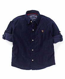 Jash Kids Full Sleeves Shirt - Navy Blue