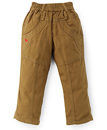 Jash Kids Full Length Pull On Pants - Khaki