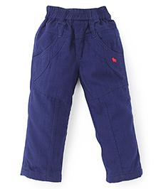 Jash Kids Full Length Pull On Pants - Navy