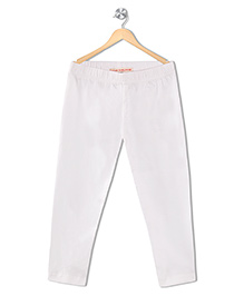 Raine & Jaine Girls Leggings - White
