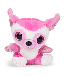 Keel Sparkle Eye Pal Soft Toy Pink - 14 Cm