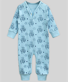 A.T.U.N Wriggly Octopus Playsuit - Blue