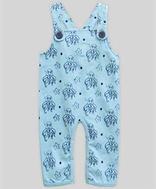 A.T.U.N Wriggly Octopus Dungaree - Blue