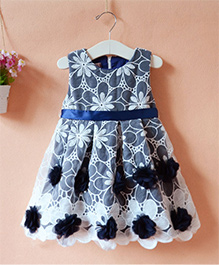 Cherubbaby Flowers N Lace - Blue