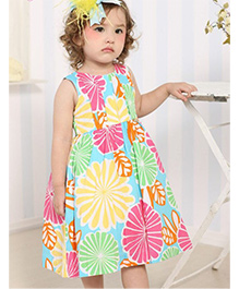 Cherubbaby Rainbow Hue Dress - Multicolour
