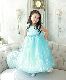 Cherubbaby Snowflake Party Dress - Blue
