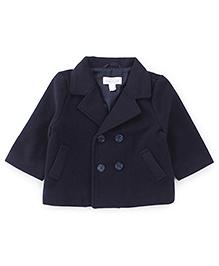 Pumpkin Patch Full Sleeves Winter Wear Jacket - Blue