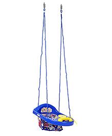 New Natraj Actvity Swing With Play Tray - Blue