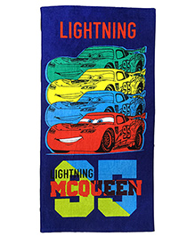 Athom Trendz Disney Pixar Cars Bath Towel - Blue  DIS-06-7-803