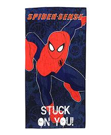 Athom Trendz Marvel Spider Man Bath Towel - Blue  MAR-06-7-806