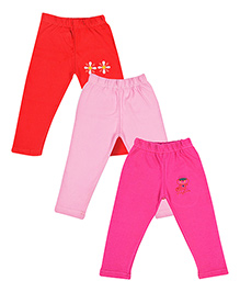 MTB Full Length Pajama Multi Color - Set Of 3
