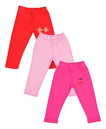MTB Full Length Pajama Multi Color - Set Of 3