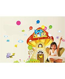 Syga Room Wall Sticker - Multicolor