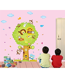 Syga Tree Wall Sticker - Multicolor - 1077776
