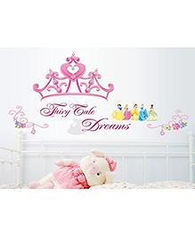 Syga Fairy Wall Sticker - Pink